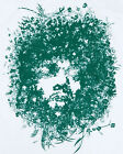 Cool JIMI Bush T-Shirt Banksy Retro Graffiti Indie Sz M