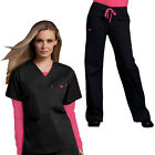Med Couture Women's Scrub Set(Top Style#8403/Pant #8705)All Color/Fast Shipping!