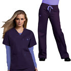 Внешний вид - Med Couture Women's Scrub Set(Top Style#8403/Pant #8705)All Color/Fast Shipping!
