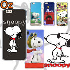 SNOOPY Cover for Samsung Galaxy S7, Peanuts Design Painted Case WeirdLand