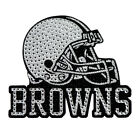 NEW NFL BLING EMBLEM DECAL ALL TEAMS (LARGE SIZE)  - FREE SHIPPING