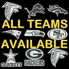 NEW NFL BLING EMBLEM DECAL ALL TEAMS (LARGE SIZE)  - FREE SHIPPING $13.0 USD on eBay