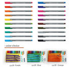 STAEDTLER 334 ZPC20 Triplus® 0.3~0.5 mm Fineliner Pen_20 COLOR SET + Zipper Case