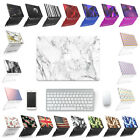 """Plastic Hard Case Shell+Keyboard Cover For Macbook Air11""""13"""" Retina13""""15"""" Pro13"""""""