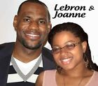 Your picture on a T shirt/Item with with Lebron James NBA Cleveland Cavaliers on eBay
