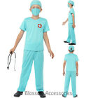 CK759 Surgeon Lab Doctor Medical Child Hospital Boy Kids Book Week Fancy Costume