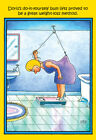 Weight-Loss Method Funny Stan Eales Birthday Card - Greeting Card by Nobleworks