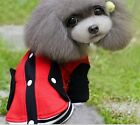 Dog Pet Coat Puppy Clothes New Winter Warm Jacket Size XS S M Red