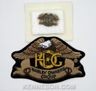 Harley Owners Group HOG 3 Claw Patch and Pin