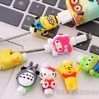 New Cute USB Data Charger Cable Saver Protector for iPhone 5c 5S 6 6S Plus