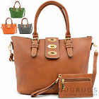 Ladies /Womens Large 46cm Faux Leather Holiday /Beach /Weekend Shoulder /Handbag