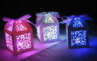Party Decorations Birthday - LED light in laser cut box - 18th 30th 40th 50th