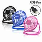 USB Mini Fan Quiet Desktop Desk Cooling For Laptop PC Copmuter Quiet Portable