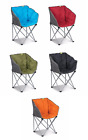 Kampa Tub Chair Charcoal or Blue - Compact - Carry Bag - Lightweight Steel Frame