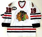 JONATHAN TOEWS CHICAGO BLACKHAWKS 2007 ROOKIE YEAR AUTHENTIC REEBOK JERSEY 52