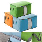 LARGE STORAGE BAG BOX JUMBO CLOTHES QUILT BEDDING DUVET LAUNDRY PILLOWS ZIPPED