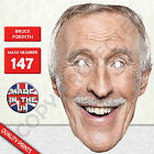 Bruce Forsyth Celebrity Strictly Dancing Card Mask - Party Mask New r