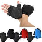 New Design Adult Half Finger Antiskid Outdoor Sports Handschuhe Silicone @D79Qq