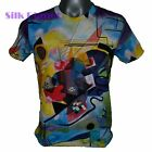WASSILY KANDINSKY Yellow Red Blue ABSTRACT FINE ART PRINT MENs T SHIRT M L XL