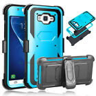 at & t samsung - Hybrid Shockproof Stand Cover Case For Samsung Galaxy J1 (2016) Amp 2/ Express 3