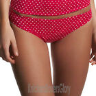 Freya Swimwear Pier Classic Bikini Brief/Bottoms Lollipop Red 3024 Select Size