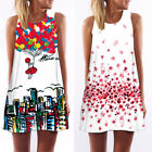 Summer Women Vintage Sleeveless #S Bodycon Casual Party Evening Cocktail Dress