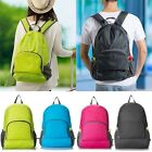 Foldable Camping Backpack Mens Womens Activities Outdoor Bag Sports Travel