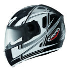 Caberg Vox Speed Motorcycle Helmet - Matt Black/White