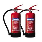 BULK BUY: 3KG DRY POWDER FIRE EXTINGUISHERS BY COMMANDER - HOME/OFFICE/TAXI