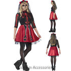 CK799 Day Of Dead Teen Diva Skull Mexican Senorita Halloween Skeleton Costume