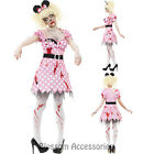 CL940 Zombie Rodent Minnie Walk Dead Ladies Halloween Horror Fancy Dress Costume