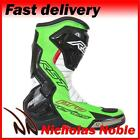 RST PRO SERIES 1503 Neon Green CE CERTIFIED SPORTS PRO RACE MOTORCYCLE BOOTS