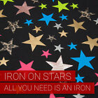 IRON ON STARS TRANSFER - ST1