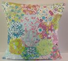 CUSHION COVERS SHABBY CHIC-STYLE PATCHWORK SINGLE MULTI COLOUR PINK BLUE LILAC