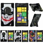 For Nokia Lumia Elvis| Nokia EOS| Hybrid Hard Bumper Stand Case Joker