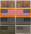 """USA Flag Patch Military American US Velcro Flag Patch 1-7/8"""" x 3-1/4"""""""