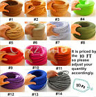 10 FT Multi-color Vintage cloth covered twist electric wire cord UL Listed