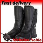 SPADA HURRICANE 2 WP Black WATERPROOF TWIN ZIP ADJUSTABLE CALF MOTORCYCLE BOOTS