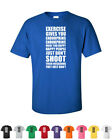 Exercise Gives You Endorphins Funny Wedding Gift LOL Gym Workout Shirts
