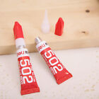 10PCS Deli 502 Super Glue Leather Plastic Rubber Quick Drying Strong Adhesive 3g
