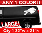 "BUFFALO BILLS LOGO LARGE DECAL STICKER 32""x 21"" ANY 1 COLOR on eBay"