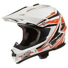 NEW AXO ORANGE MOTOCROSS ENDURO ROAD LEGAL HELMET (ALL SIZES) KTM SX SXF EXC XC