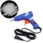 eBay - Professional Electric Heating Hot Melt Glue Gun 20W 50Pcs Glue Sticks