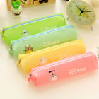 Cartoon Totoro Jelly Glue Pen Bags Pencil Cases Student Stationery Writing Case