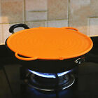 KItchen Large Silicone Splatter Guard Pizza Baking Tray Coaster Strainer Lid