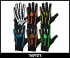 Kids/Junior Football Outfield/Field Player Thermal Lined Silicon Grip Gloves