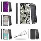 For HTC Desire 530 | Desire 630 Slim Flexible Clear TPU Case Swamp Camouflage