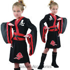 CSW39 Ninja Girls Costume Fancy Dress Up Martial Arts Samurai Japanese Warrior