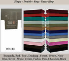 Fitted Sheet Poly-Cotton Bed Sheet Single Double  King Sking