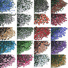 Fashion 1440pcs DMC Iron On Hotfix Crystal Rhinestones Multi-Colors (1.8-2.0mm)